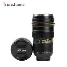 Transhome Kreative Kameraobjektiv-becher 420 ml Generation Nikon 24-70 Edelstahl Tassen Für Kaffee Tee Milch Heiße becher Simulation Rtic