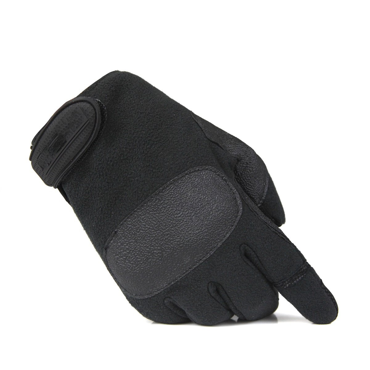Fleece anti-skid wear-resistant riding climbing climbing training full-finger gloves мерная лента stayer master стальное полотно 10мм 50м 3416 50 z01