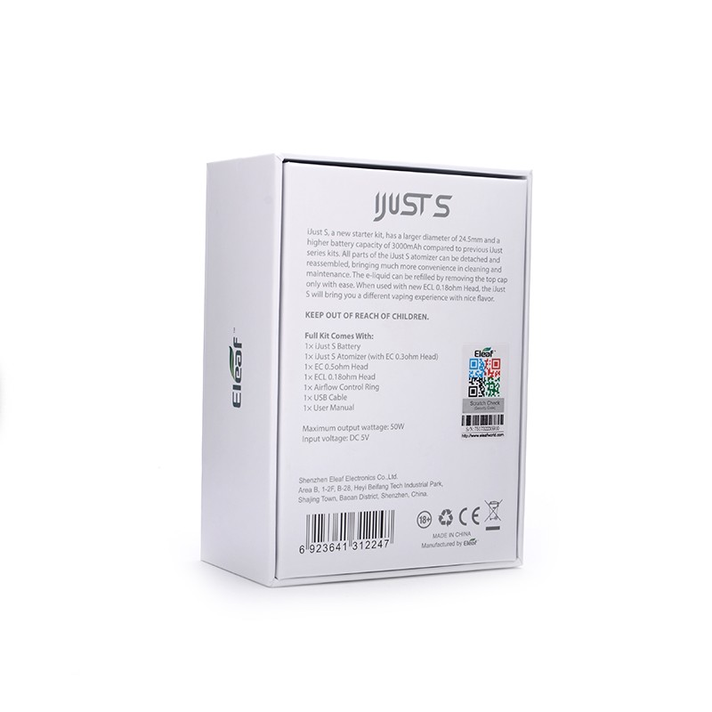 100-Original-Eleaf-iJust-S-3000mah-Battery-with-4ml-ijust-s-Atomizer-electronic-cigarette-kit -6