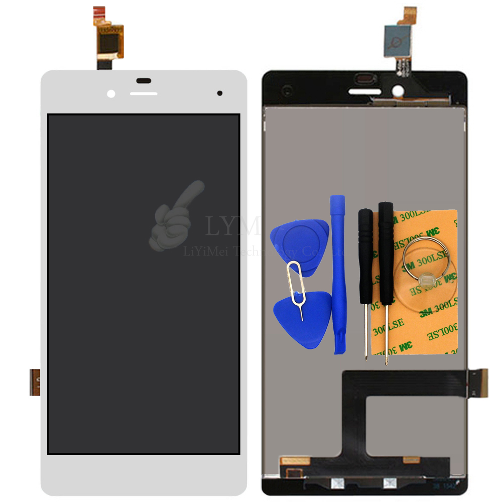 White LCD TP for ZTE Blade A476 LCD Display Touch Screen Digitizer Panel Assembly Phone Replace