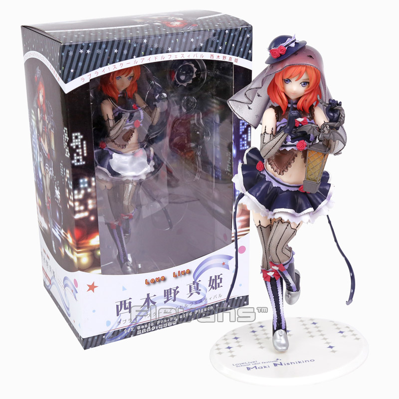 Love Live! School Idol Festival Nishikino Maki 1/7 Scale Painted Figure Collectible Model Toy 23cm цена