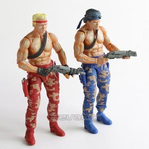 Image 3 - NECA CONTRA Bill & Lance PVC Action Figure Collectible Model Toy 2pcs/set