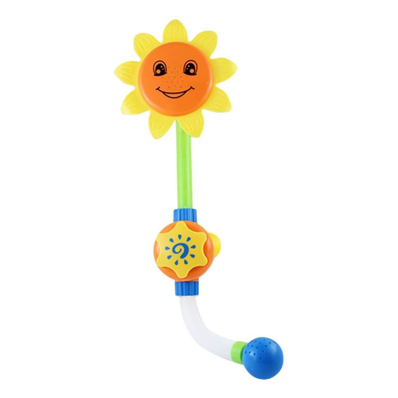 Дети Детские Bain ing подсолнечника смеситель для душа Bain воды играть обучения Игрушки Подарки Высокое качество FJ88