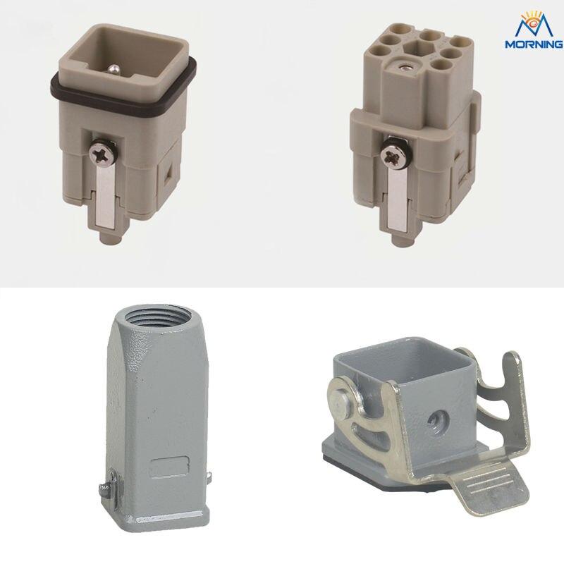 HOT HQ-007 7+PE 400v 10A Power heavy duty connectors дырокол deli heavy duty e0130