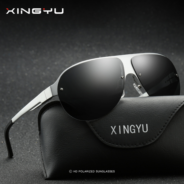 ff548b928851 XINGYU New Polarized Sunglasses Men Coating Mirror Sun Glasses Original  Brand Male Over Sized Accessories For Men oculos XY061