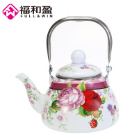 1.0L Emaille Pot Traditionele Chinese Thee pot peervormige pot Verdikte Water Ketel Elektromagnetische Oven Gas Pot