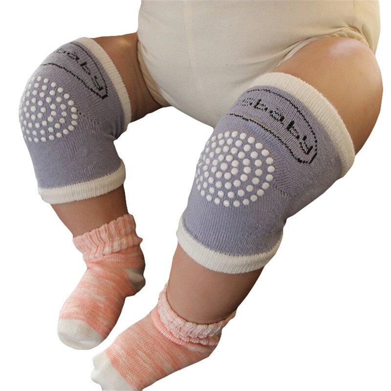 2019 Novo Bebê Engatinhando Joelheiras Protetor de Algodão Crianças Polainas Rótulas Crianças Grils Meninos Dos Desenhos Animados Anti Slip 6- 18M