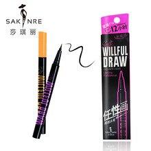 Фотография Cosmetics Sweat-Resistant Eye Liner Water Pencil Quick-drying Eye Tint Liner Pen Quick Makeup Easy To Wear Liquid Eyeliner Pen