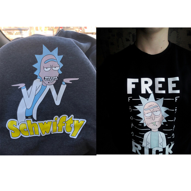 PEACE AMONG WORLD RICK AND MORTY SWEATSHIRT (7 VARIAN)