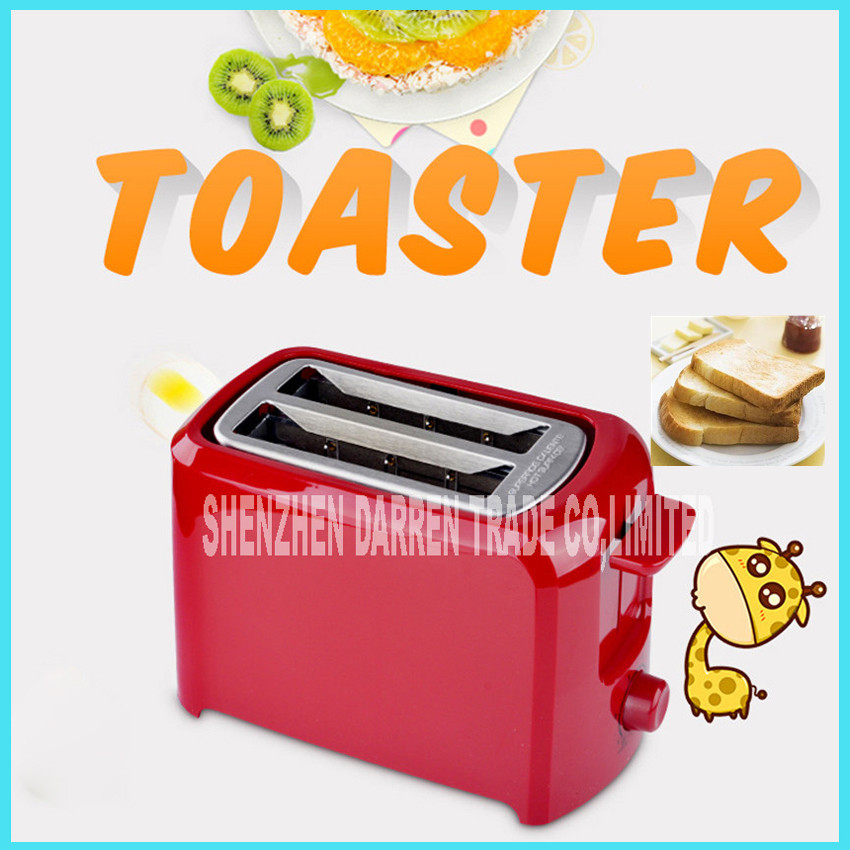 ФОТО Household toaster machine RE-209 home automatic 2 Slices Toaster Bread breakfast Machine Toaster Ovens 750W Bread Baking machine
