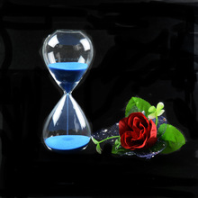 1PC New Classic Sand Glass Sandglass Hourglass Timer Home Tabletop Decor 5 Minutes JY 1189