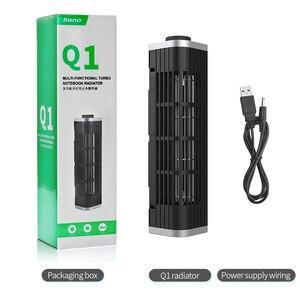 Image 5 - LLANO support de Base pour ordinateur portable et tablette, vitesse réglable, refroidisseur refroidisseur dordinateur portable, ventilateur de bureau