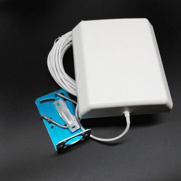 À gain élevé sans fil wifi 14dbi antenne extérieure 2.4 ghz 14dbi panneau patch antenne avec 10 câble