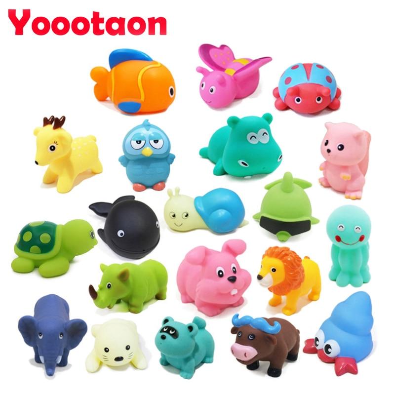 Baby Bath Toys : Wholesale pcs lot kawaii baby bath toys animal insects