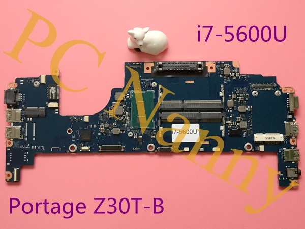 FUX2SY1 A3927A for Toshiba Z30 Z30T-B1320W10 Motherboard system Board I7-5600U 2.6G Intel HD Graphics 5500, 13.3