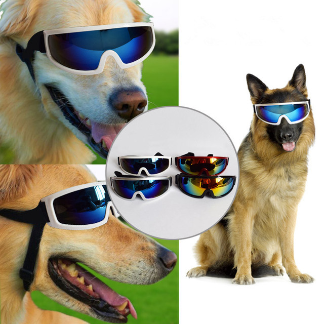 73f4bd550cb3 Pet Dogs Puppy Cat Glasses Sunglasses Waterproof Eye-wear UV Protection  Goggles Fashion Glasses Small