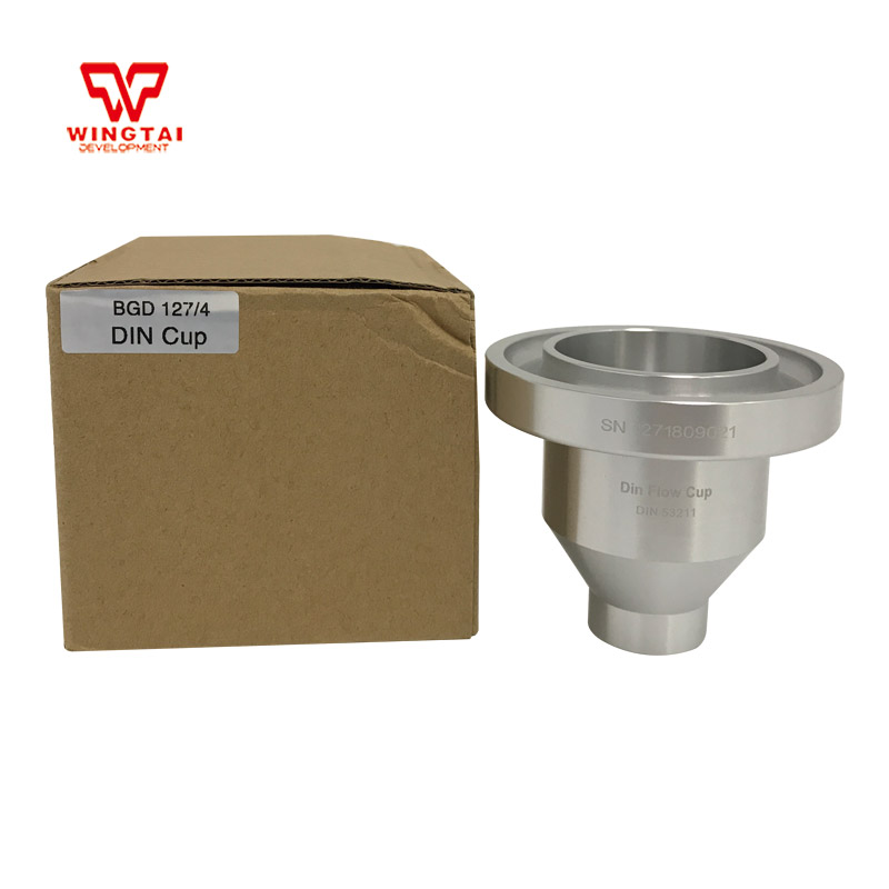 100ml Din 4 Flow Measuring Cup/ Flow Cup Viscometers For Any Type Fluid Viscosity