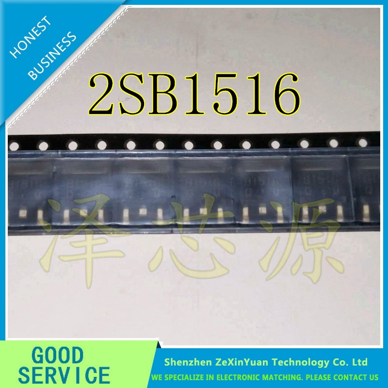 10PCS/LOT 2SB1516 B1516 TO-252 PNP TRANSISTOR