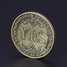 Цветочные украшения с буквами да нет художественные подарки для коллекции сувенир Памятная коллекция монет энтузиасты