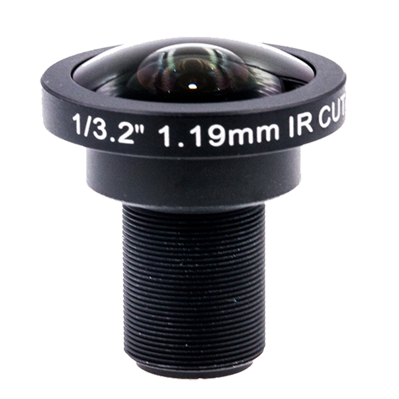 1 19mm Panoramic Wide Angle 185 Degree Fisheye Lens 1 3 2 8MP F2 0 for