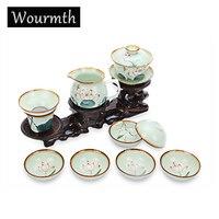 Wourmth True Pot Tea Beauty Ceramics Arts tea set China Teapot Porcelain yixing Clay Antique Teapot