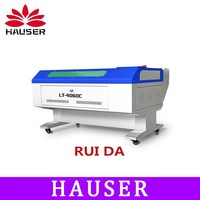 Freeshipping Co2 laser engraving machine cnc laser ,4060 engraving machine CO2 laser cutter RUIDA laser marking machine