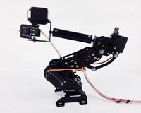 2018 DIY Education Robot Competition 7 Axis Robot Arm 7DOF DS3218 Servo Mechanical Robot Arm