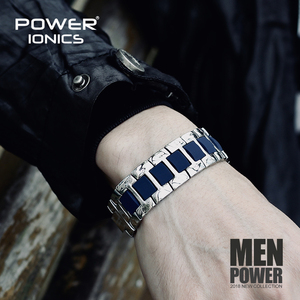 Image 2 - כוח Ionics אופנה ספורט גברים נשים בריא אניון צמיד טיטניום פלדה יונים טיפול רחב צמידי צמיד אוהבי מתנה
