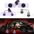 1 Pair Professional Car LED Step Logo Welcome Bulbs Ghost Shadow Lamps Door Light Projector for Audi/Toyota/BMW