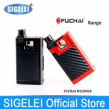 Original SIGELEI fuchai Range fuchai wildfox 40w e electronic cigarette vape kit ,Built-in LiPo Battery 2000 mAh