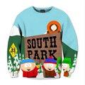 Толстовки Аниме South Park 3D Хип-Хоп Толстовка Моды Новый Вскользь Уменьшают Подходящие Мужские Толстовки Мило Детства Верхняя Ткань
