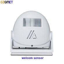 Shop Home Hotel vistor Entry Bell Welcome Chime Alarm Music Switch PIR Motion Sensor Infrared Detector sensor
