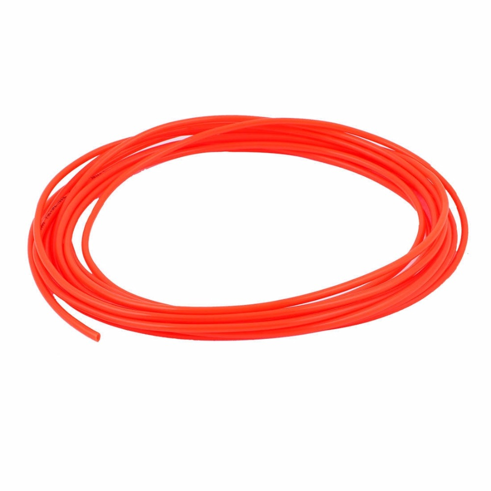 5 meters 4mm(OD) x 2.5mm(ID) Air Tubing Pneumatic Pipe Tube Hose OD 4mm ID 2.5mm PU Polyurethane Flexible Tube 5 pcs 5mm male thread m5 0 8 to 4mm od tube l shape pneumatic fitting elbow quick fittings air connectors