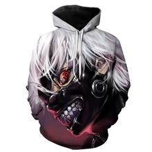 все цены на 2019 Anime 3D Sweatshirts Men/women Tracksuits Tops Print Hooded Anime Hoodies Thin  Sweatshirts Streetwear Tops