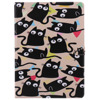 A Group Of Black Cats Pattern Pu Leather Flip Case For Apple IPad Mini2 3 4