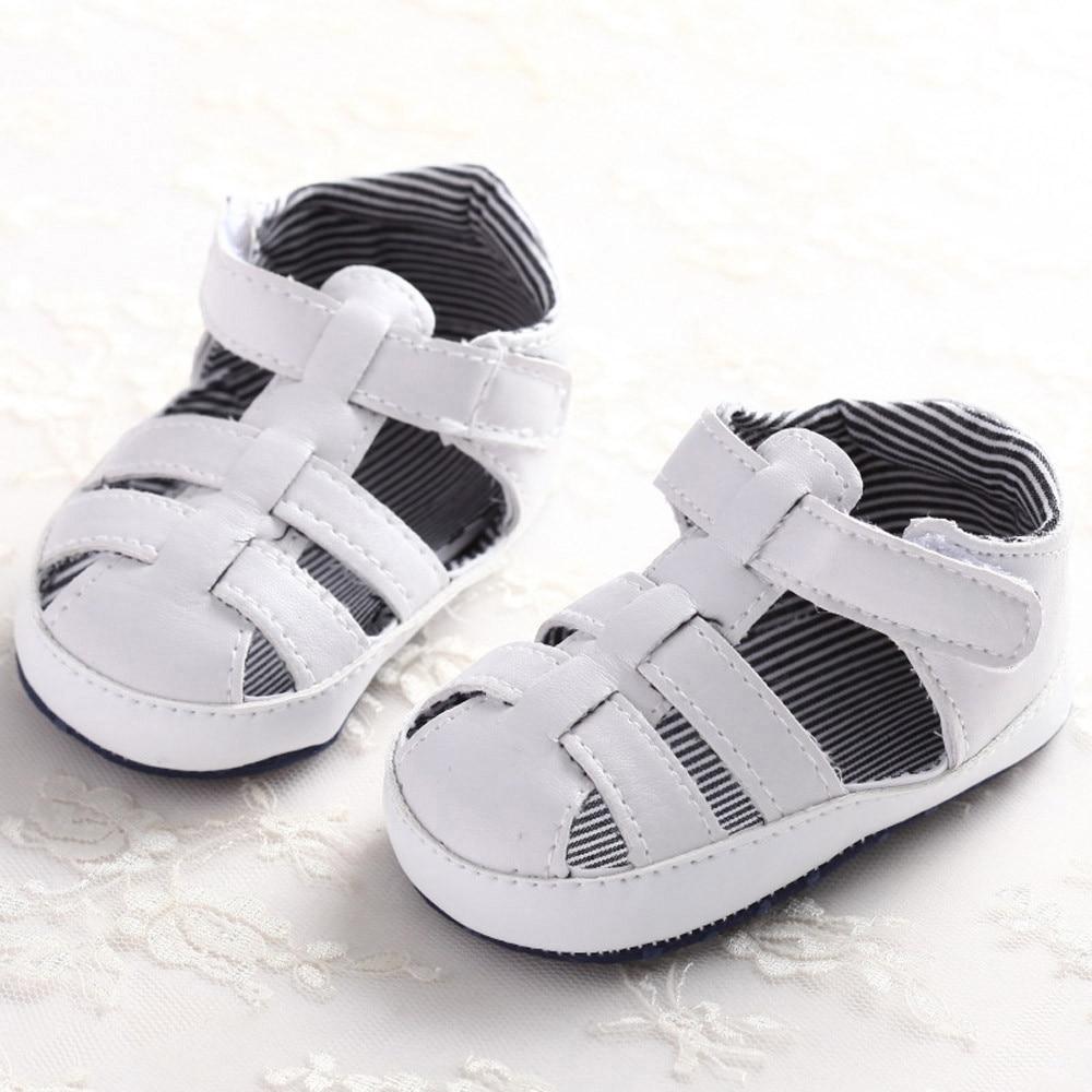 Black newborn sandals - Baby Girls Boys Shoes Kids Soft Sole Crib Toddler Newborn Boy Sandals Shoes Sneaker Baby Shoes