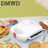 Multifunctional Waffle Machine Mini Egg Cake Full Automatic Household Electric Cake Doughnut Makers Breakfast Making Machine