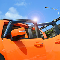 Car Accessories For Jeep Renegade 2014 2015 2016 Window Visor Covers Vent Shade Rain Sun Guard