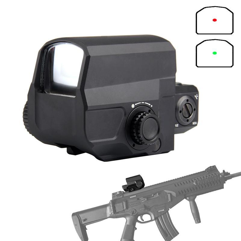Red Dot Sight Scope Tactical LCO Reflex Sight with 20mm Rail Mount for Hunting Airsoft 5-0038 leupold d evo dual enhanced optic with special reticle magnifier with lco reflex red dot