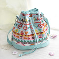 stacy bag 040716 new hot sale lady small floral canvas bag girl fashion bucket bag
