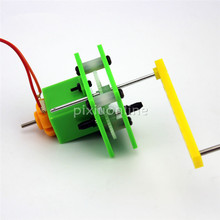 1set J190b Model S2 Mini Hand Generator Popularization of Science for Teaching and Experiment DIY Hand Dynamo Sell at a Loss