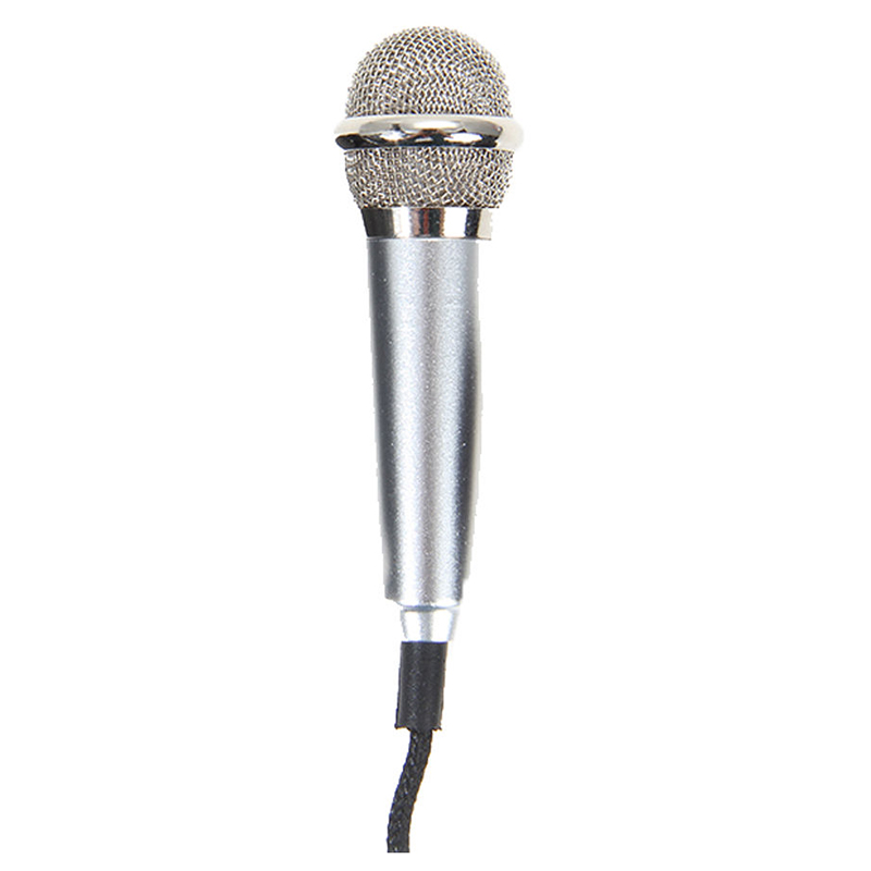 Handheld Microphone Mic 3.5MM Wired Studio Stereo