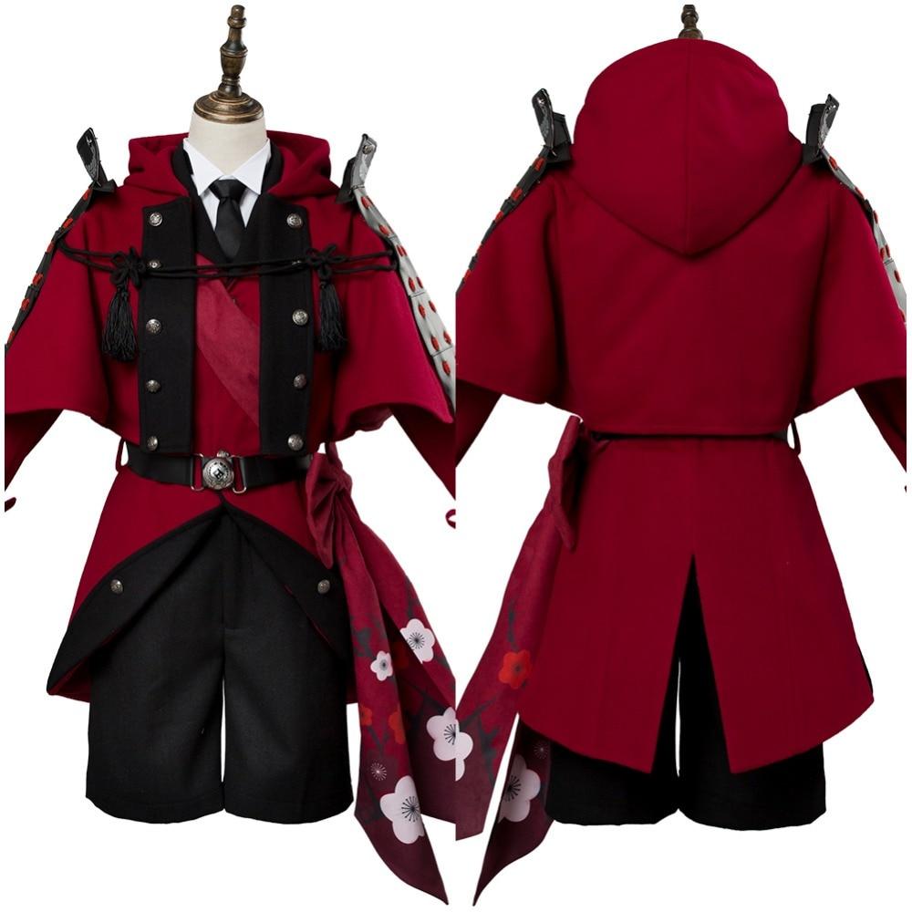 Masamune Touken Ranbu Hyuuga Cosplay Costume Adult Masamune Outfit Halloween Carnival Cosplay Costume Custom Made