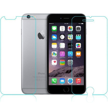 100Sets of Front Back Tempered Glass Screen For iPhone 6s plus 5 5 2 5D Arc