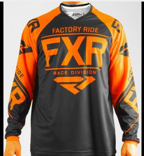 FXR BMX Off-Road Long Sleeve Moto GP Racing Jersey 5