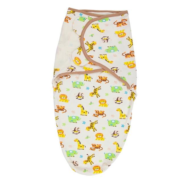 100% Cotton Baby Swaddle Wrap Blanket Newborn Infants Baby Envelop Sleep Bag Sleepsack Mantas Para Bebe KF040S