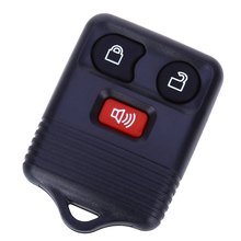 C31 Car Remote Key Holder Case Shell 3-button Protecting Cover for Ford Easy to Install Protect Buttons From Excessive Wear