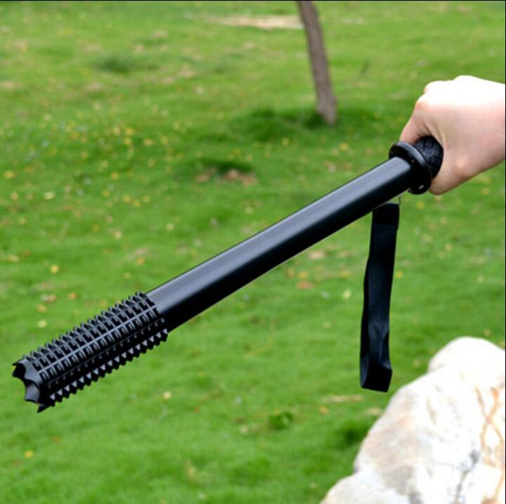 Outdoor Emergency Self Defense LED FlashLight Torch Lamp Defensive Lamp Anti Wolf Flashlight ...