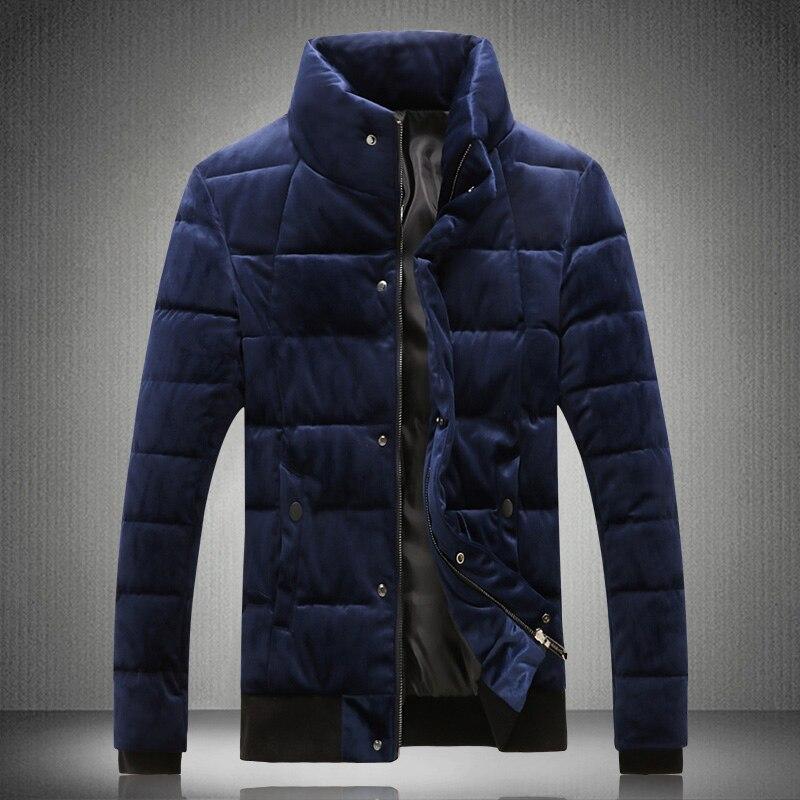 2018 Winter Herrenmode Casual Graben Mantel Herren Verdickung Jacken Oberbekleidung Mode Mantel Männer Klassische Baumwolle Gefütterte Jacke