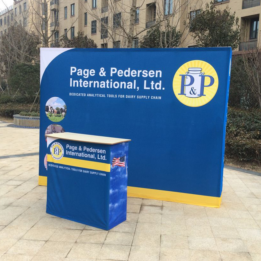 Exhibition Booth Signage : Portabel ft trade show display booth pop up banners stand